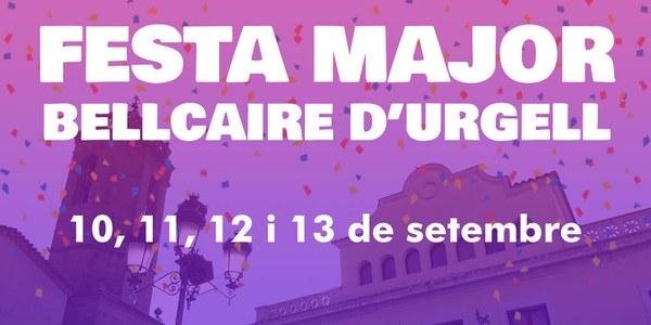 FESTA MAJOR Bellcaire d'Urgell