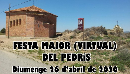 FESTA MAJOR (VIRTUAL) DEL PEDRÍS