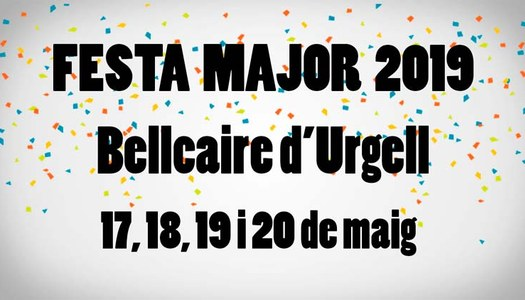 PROGRAMA FESTA MAJOR DE BELLCAIRE D'URGELL