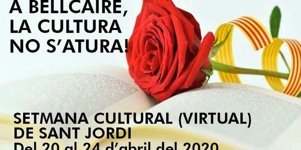SETMANA CULTURAL (VIRTUAL) DE SANT JORDI